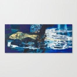 The fish Canvas Print
