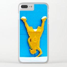 LO SQ DAZE Clear iPhone Case