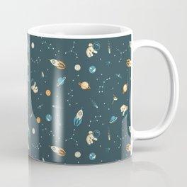 Lil Astronaut Pattern (8bit) Coffee Mug