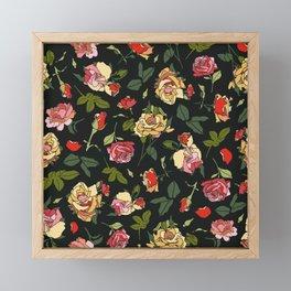 English Rose Garden Framed Mini Art Print