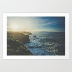Cliffside Morning Art Print