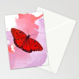 Flaming Heart Stationery Cards