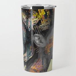 Afro-Girl Travel Mug
