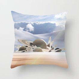 Desert Rose Audax Throw Pillow