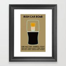 Irish Car Bomb Framed Art Print