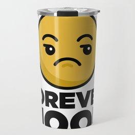 Eye Roll Forever Mood Travel Mug