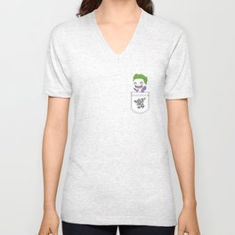Pocket Joker Unisex V-Neck