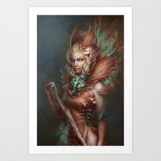 The Sibyl Art Print