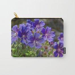 GERANIUM SUPERBUM BLUE FLOWERS IN JUNE Carry-All Pouch