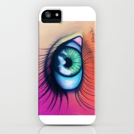 Kaleidoscopic Vision iPhone Case