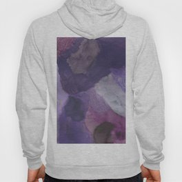 Shades of Purple Abstract Hoody