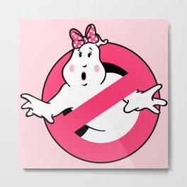 Ghostbusters Ladies Metal Print