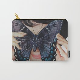 Morpho Butterfly Carry-All Pouch