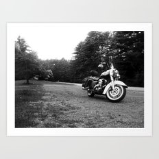 Road King Art Print