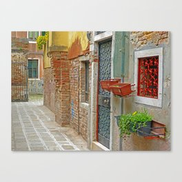 Back Alley 2 Canvas Print