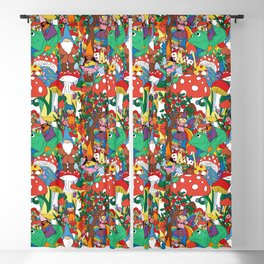 Whimsical Worlds Blackout Curtain