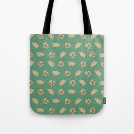 Dumpling Pattern Tote Bag