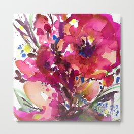 Floral Dance No. 3 Metal Print