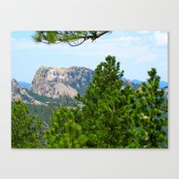 rushmore Canvas Prints featuring Mt. Rushmore by Irislynn