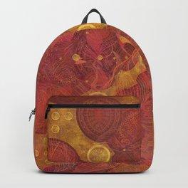 """Rose Gold Mandala Deluxe"" Backpack"