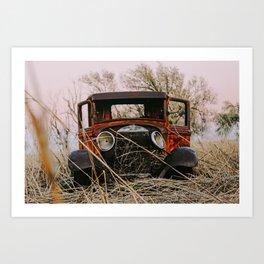 Ole Rusty Art Print