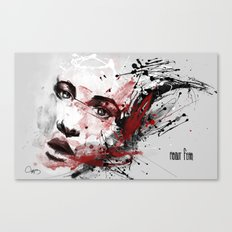 about fear Canvas Print