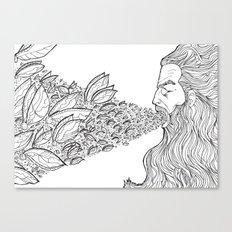 Fly God Canvas Print