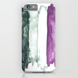 asexual pride flag iPhone Case