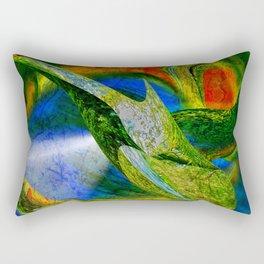 nobis sapidior abstracta Rectangular Pillow