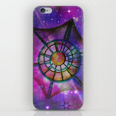 Purple Space iPhone & iPod Skin