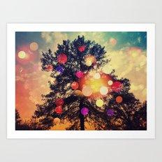 The Dreaming Tree Art Print