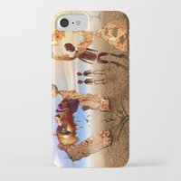 africa iPhone & iPod Cases featuring Africa by teddynash