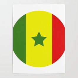 Senegal flag Poster