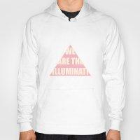 illuminati Hoodies featuring Illuminati by filiskun