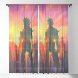 MIDORIYA IZUKU / DEKU - MY HERO ACADEMIA Sheer Curtain