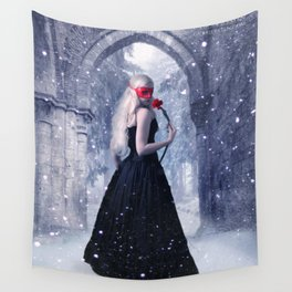 A Kiss From A Rose Wall Tapestry