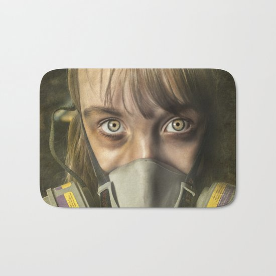 The day after ~ Survivor (treated version) Bath Mat