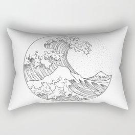 Great Wave Rectangular Pillow