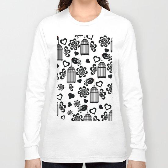 Pattern N Long Sleeve T-shirt
