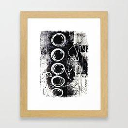 Bold & Graphic No.4 Framed Art Print