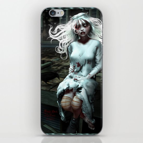 """""""Lacey Malice"""" by MiaSnow and Trin iPhone & iPod Skin"""