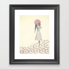 A Bird in the Hand Framed Art Print