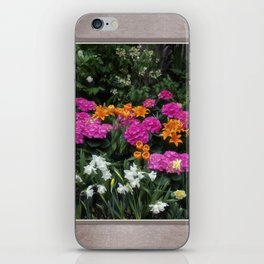 Garden Delight iPhone Skin