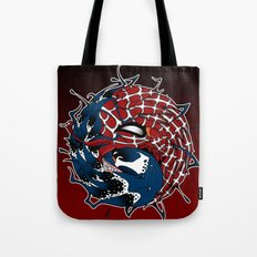 venom yin yang Tote Bag