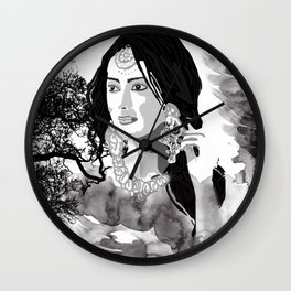paintng Wall Clock