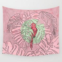 Paradise bird Wall Tapestry