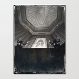 Quicksand Haunted Mansion By Topher Adam 2017 Canvas Print
