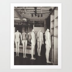 Mannequins Art Print