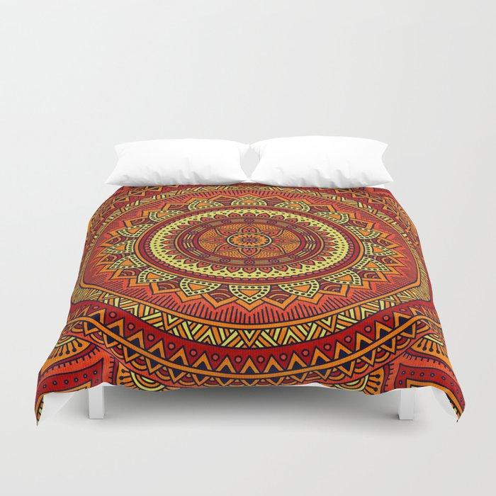 Hippie mandala 85 Duvet Cover