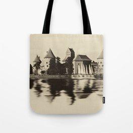 Castle of Trakai Tote Bag
